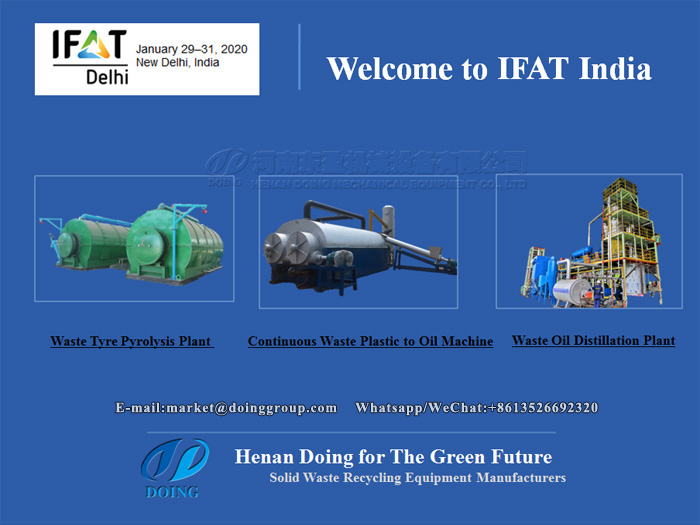 Good news: DOING company will attend IFAT India 2020
