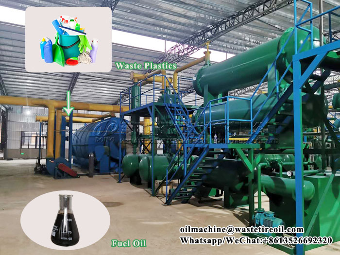 What are the products of plastic pyrolysis? What are the uses of byproducts?