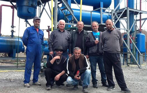 Georgia customer''s waste plastic pyrolysis plant successfully installed