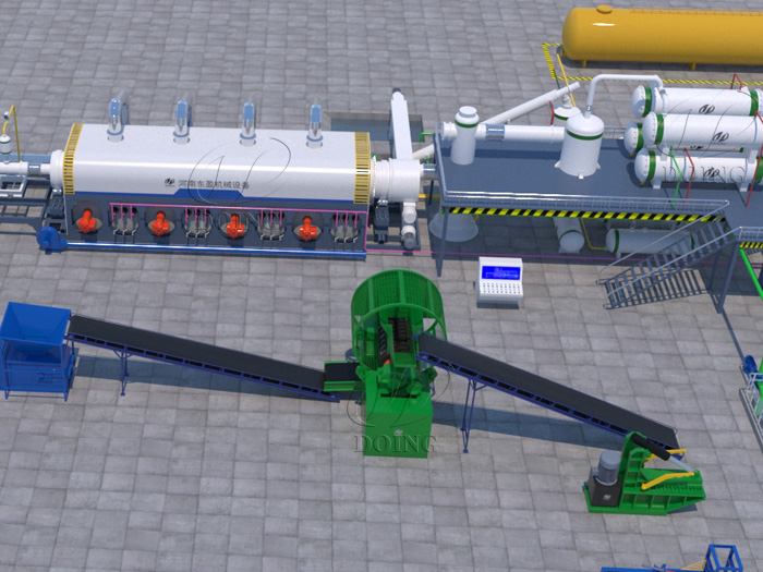 Manufacturer and supplier of waste plastic pyrolysis plant recycling