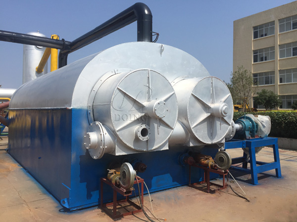 continuous plastic recycling machine
