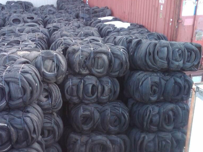 How much are scrap tires worth?