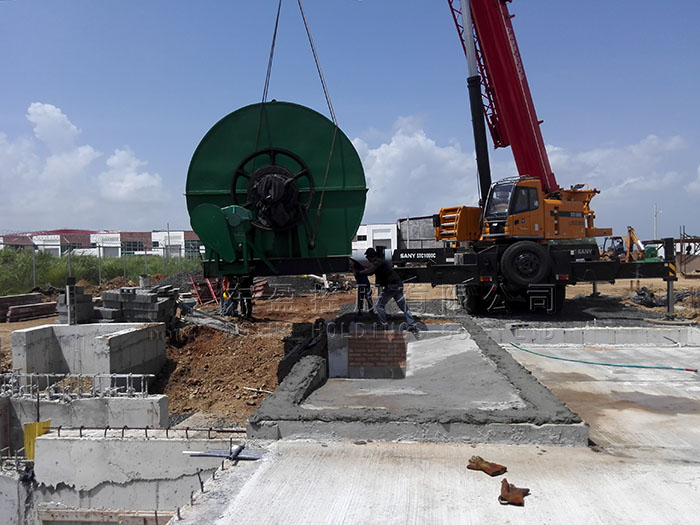 DOING waste tyre pyrolysis plant project in Panama